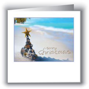 Christmas Beach Cards